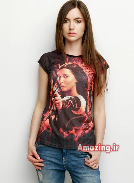 مدل تی شرت دخترانه,مدل تیشرت جدید, مدل تیشرت 93, ایده برای طراحی تیشرت