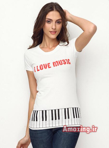 مدل تی شرت 93,مدل تیشرت زنانه,مدل تی شرت دخترانه