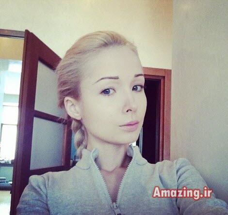 والریا لوکیانوا ,عکس والریا لوکیانوا ,چهره والریا لوکیانوا ,عکس باربی زنده, زیباترین باربی زنده جهان