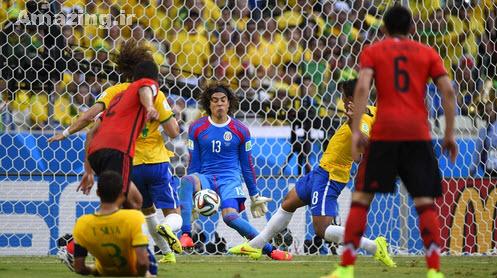 گل های بازی برزیل و مکزیک,دانلود بازی برزیل و مکزیک,عکس های بازی برزیل و مکزیک,خلاصه بازی برزیل و مکزیک