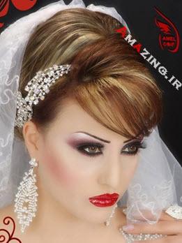 مدل آرایش صورت عروی , آرایش جدید عروس 93