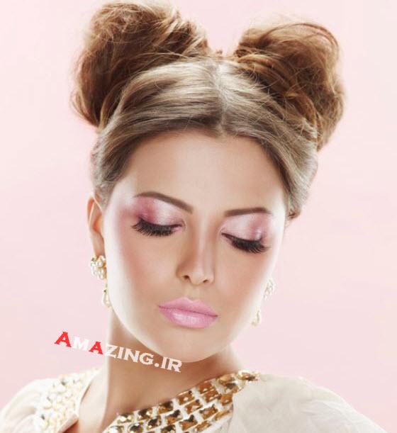 مدل آرایش عروس , میکاپ عروس