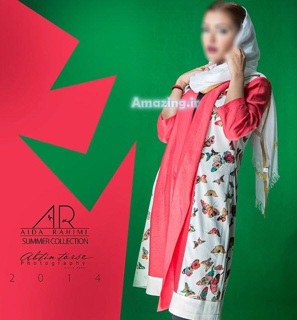 مدل مانتو ,مدل مانتو تابستانی, مدل مانتو آیدا رحیمی