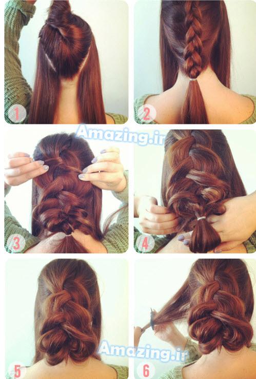 آموزش بافت مو , آموزش مرحله به مرحله بافت مو