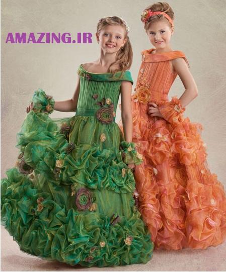 لباس مجلسی دخترانه,لباس مجلسی کودک,لباس مجلسی خردسال