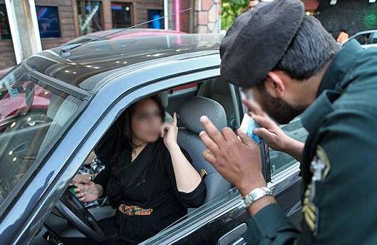 دختران بد حجاب, برخورد با بد حجاب ها,برخورد پلیس با دختران بد حجاب