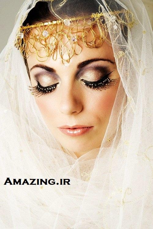 آرایش عروس , سایه چشم عروس