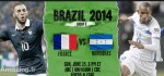 دانلود و نتیجه بازی فرانسه و هندوراس جام جهانی ۲۰۱۴ + عکس ها