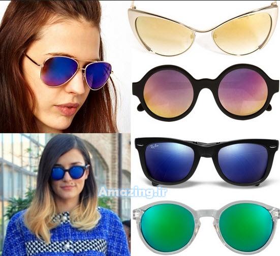 عینک آفتابی , مدل عینک آفتابی