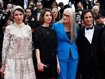 لیلا حاتمی ,روبوسی لیلا حاتمی ,عکس لیلا حاتمی ,لیلا حاتمی در جشنواره کن ,عکس لیلا حاتمی در جشنواره کن 2014
