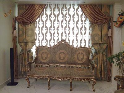 مدل پرده اتاق خواب, پرده پذایرایی