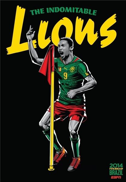 پوستر تیم ها در جام جهانی , جام جهانی 2014, عکس پوستر تیم ها