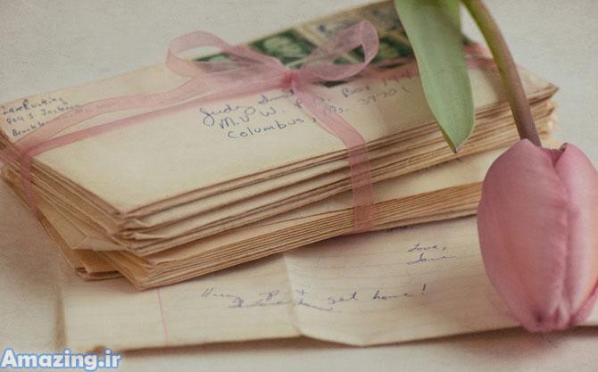 عکس عاشقانه نامه , عکس های عاشقانه