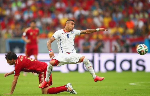 گل های بازی اسپانیا و شیلی,دانلود بازی اسپانیا و شیلی,عکس های بازی اسپانیا و شیلی,خلاصه بازی اسپانیا و شیلی
