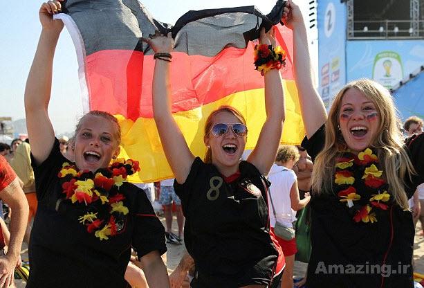 تماشاگران زن , تماشاگران جام جهانی 2014 , تماشاگران خوشگل