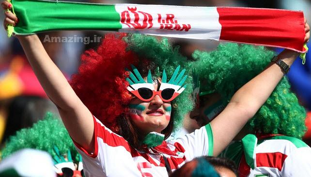 تماشاگران بازی ایران و آرژانتین,تماشاگران دختر بازی ایران و آرژانتین,عکس های تماشاگران ایران و آرژانتین