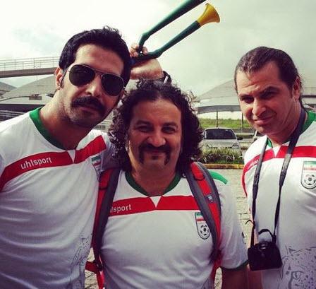 عکس های بازیگران , عکس بازیگران در جام جهانی 2014