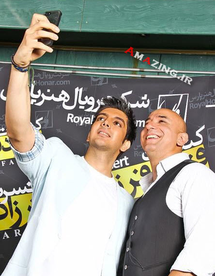 عکس خوانندگان , کنسرت فرزاد فرزین , عکس کنسرت فرازاد فرزین , خرداد 93