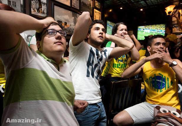 عکس های تماشاگران جام جهانی 2014 , تماشاچیان فوتبال در برزیل, عکس تماشاگران زن جام جهانی 2014