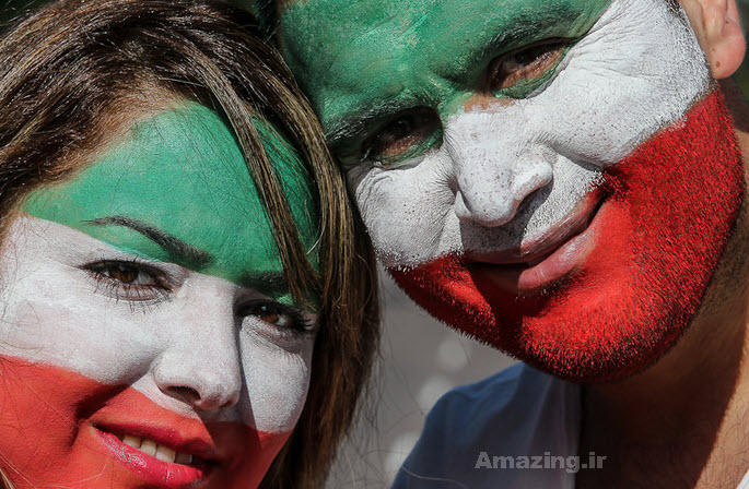 عکس های بازیگران ایرانی , تماشاگران جام جهانی 2014 , عکس تماشاگران بازی ایران و نیجریه