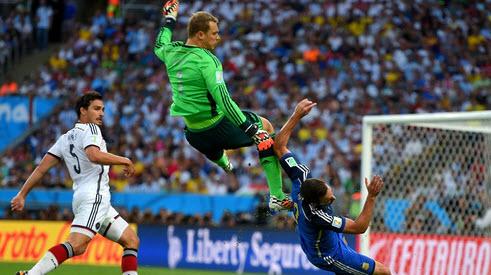 فینال جام جهانی 2014 , بازی آلمان و آرژانتین, عکس بازی آلمان و آرژانتین
