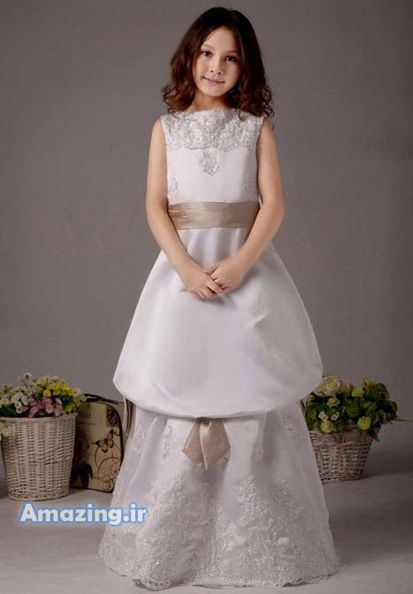مدل لباس , لباس مجلسی بچه گانه , لباس پرنسسی دخترانه