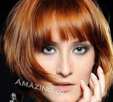 مدل مو , رنگ مو , مدل رنگ مو جدید