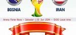 نتیجه بازی ایران و بوسنی جام جهانی ۲۰۱۴ + عکس و دانلود گل ها