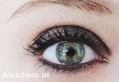 آرایش چشم , آموزش آرایش چشم , آرایش چشم دودی