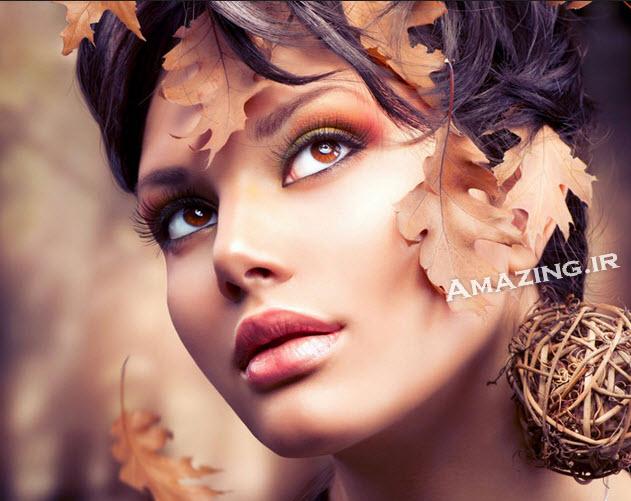 مدل آرایش صورت , آرایش صورت زنانه , مدل آرایش