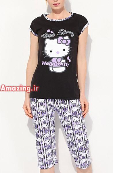 مدل لباس , لباس راحتی زنانه , پیژامه