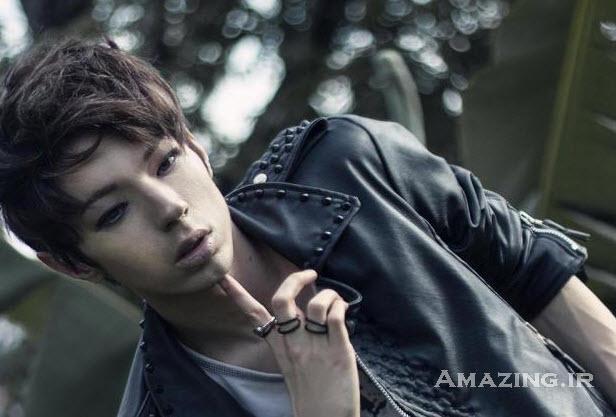 عکس پسر , عکس خوشگل پسر کره ایی , تبدیل پسر برزیلی به کره ایی ,عمل زیبایی , سیان , مکس
