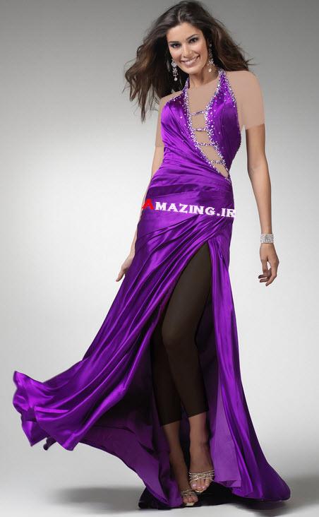 مدل لباس مجلسی 2014 , لباس مجلسی بلند
