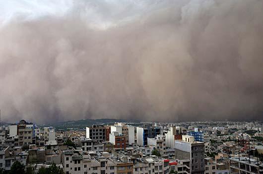 طوفان تهران , عکس خرابی های طوفان تهران , اخبار طوفان تهران