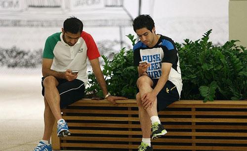 بازیکنان تیم ملی, عکس بازیکنان ایران در برزیل, جام جهانی 2014