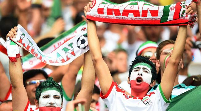 تماشاگران بازی ایران و بوسنی , تماشاگران زن بازی ایران 2014