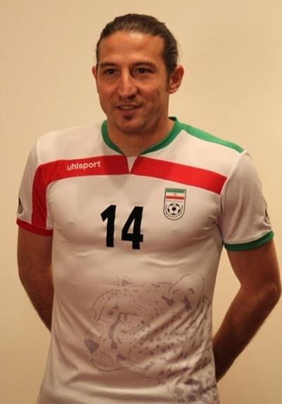عکس بازیکنان ثابت ایران در جام حهانی , شماره پیراهن بازیکنان در جام جهانی 2014 , عکس پیراهن تیم ملی