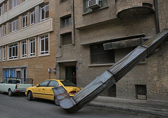 عکس طوفان تهران , عکس خرابی های طوفان تهران , اخبار طوفان تهران