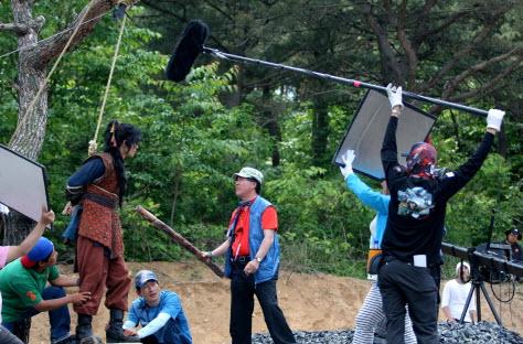 سریال سرزمین آهن , عکس بازیگران , پشت صحنه سرزمین آهن