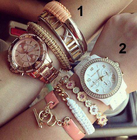 مدل ساعت مچی دخترانه, دستبند دخترانه