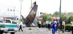 علت سقوط و عکس های سقوط هواپیما در غرب تهران مرداد ۹۳