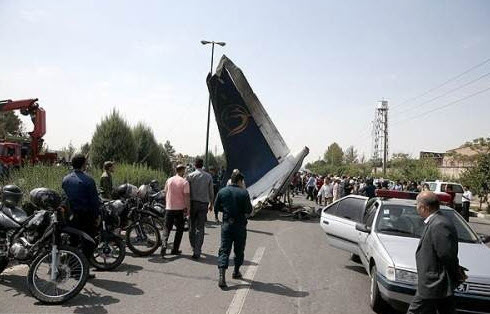 علت سقوط هواپیما,  مرداد 93 , غرب تهران