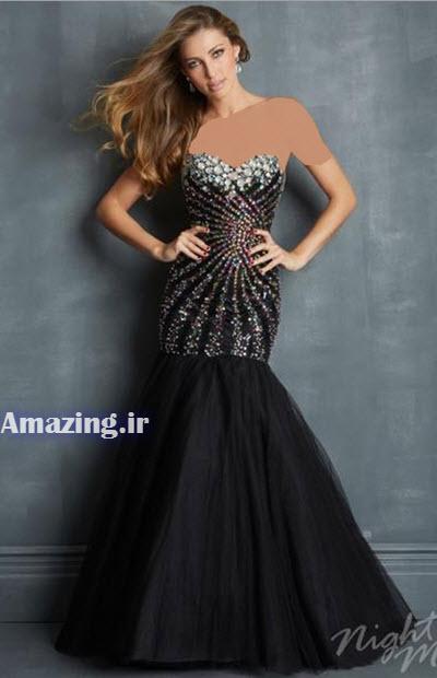 مدل لباس مجلسی , لباس مجلسی گیپور