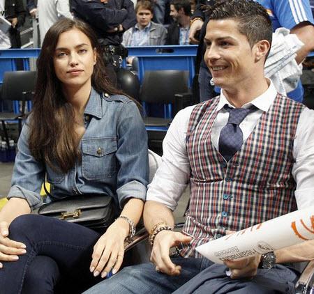 Cristiano Ronaldo and fiance Irina Shayk