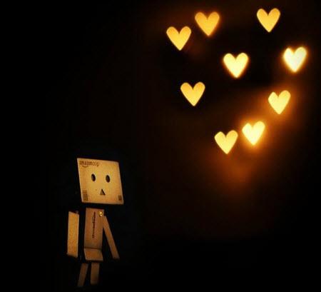 عکس عاشقانه , عکس های عاشقانه , عروسک دانبو Danbo