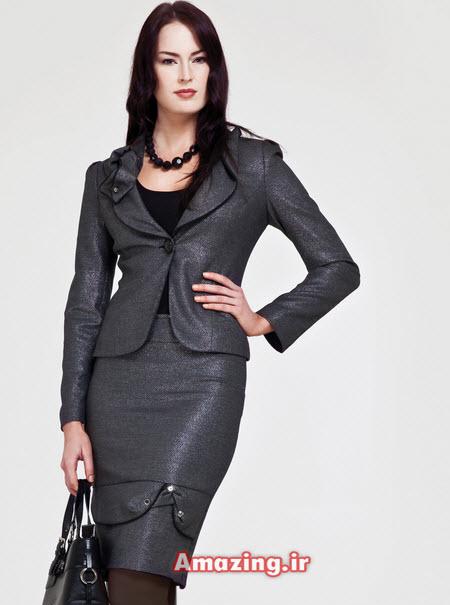 کت و دامن 2015 , مدل کت و دامن مجلسی