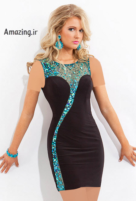 مدل لباس مجلسی , لباس مجلسی کوتاه