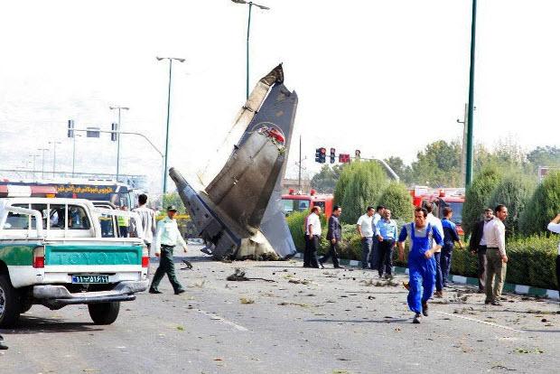 سقوط هواپیما,  مرداد 93 , غرب تهران