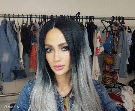 رنگ مو 97, رنگ موی زنانه 2018 , مدل رنگ مو , رنگ مو روشن , رنگ مو زیتونی , رنگ مو ترکیبی , رنگ مو دخترانه
