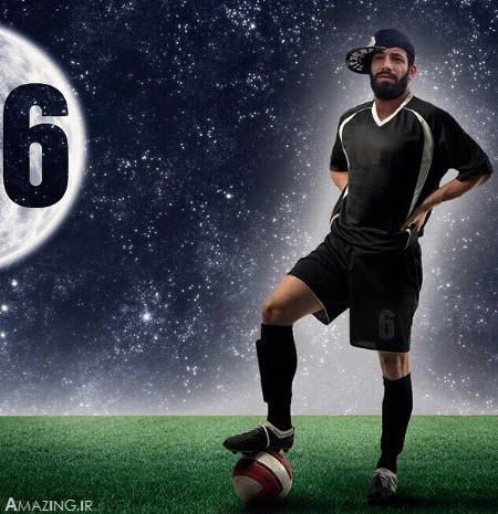 امیر تتلو , فوتبال و امیر تتلو , عکس جدید امیر تتلو